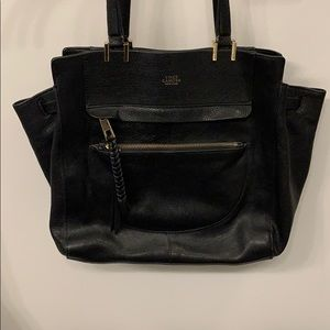 Vince Camuto Ayla Tote - Black Leather